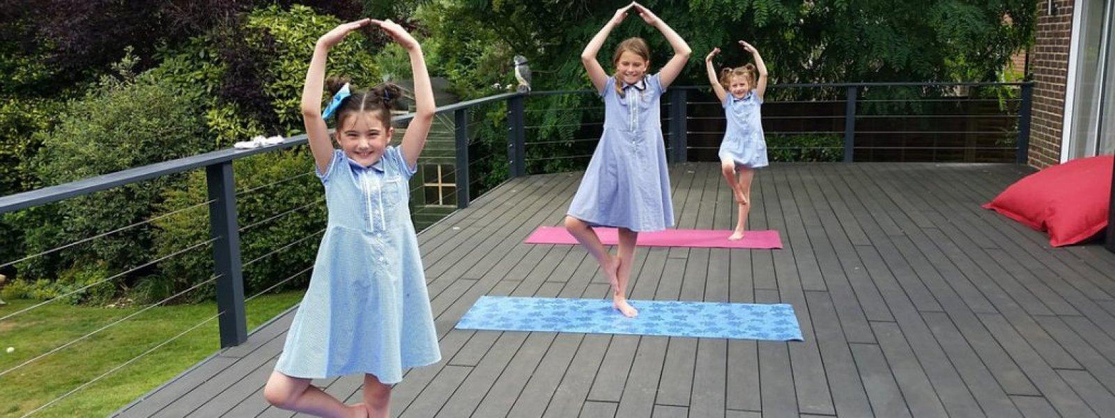 Kids yoga and mindfulness