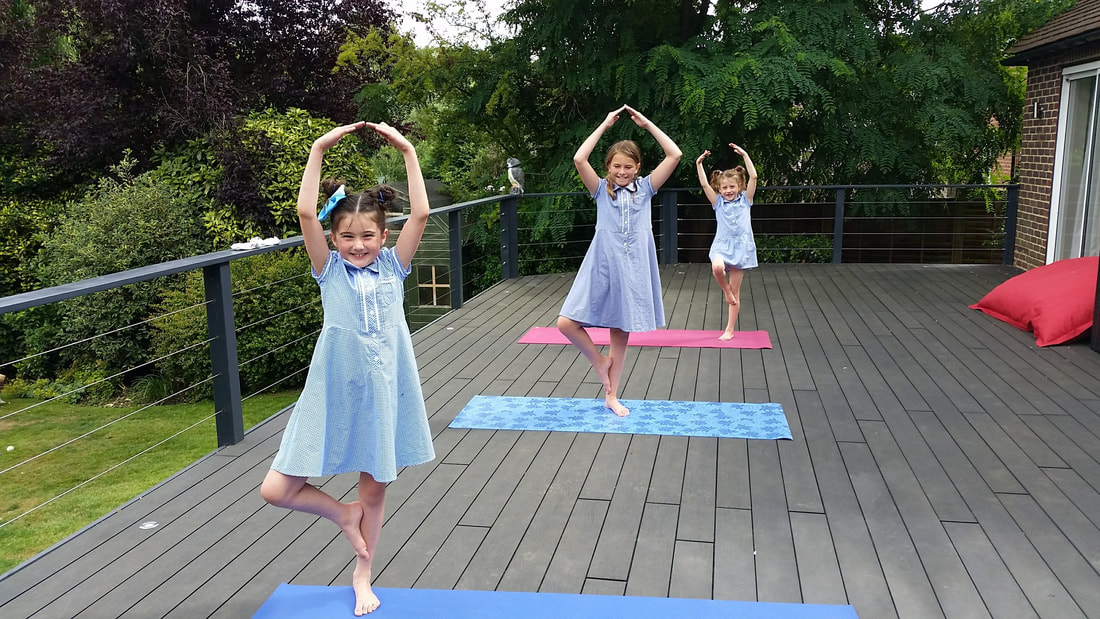 Kids yoga and mindfulness