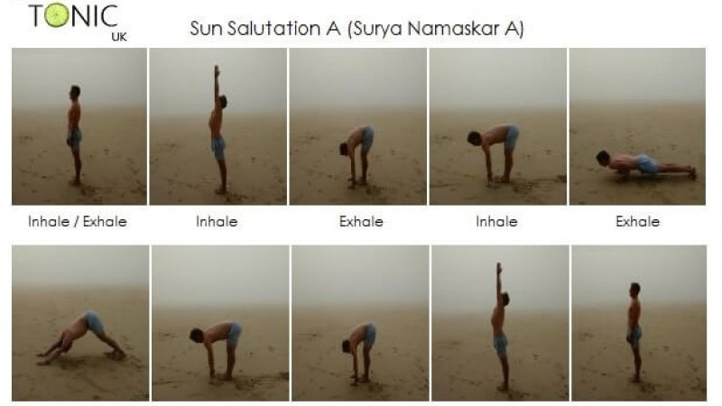 The Mighty Sun Salute