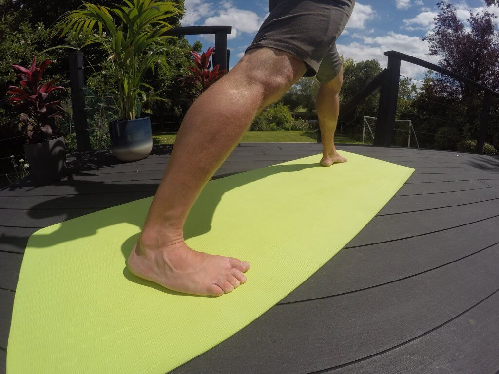 varicose foot yoga exercițiu